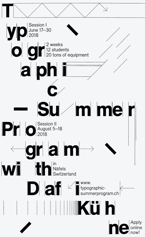 STA 100 - Typographic Summer Program